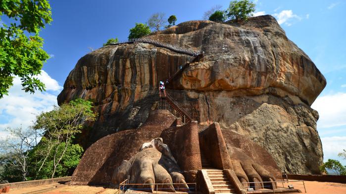 Sigiriya - Løveklippen