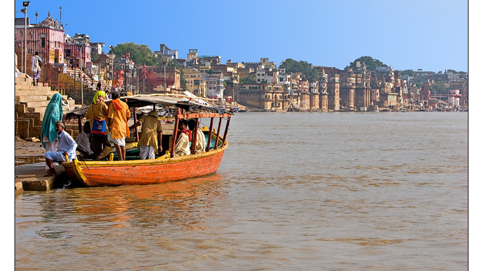 <strong>Varanasi og Ganges</strong>