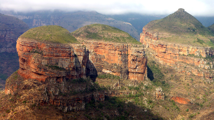 Blyde River Canyon i Drakensfjellene.