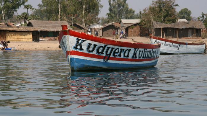 Fiskeby ved Malawisjøen.
